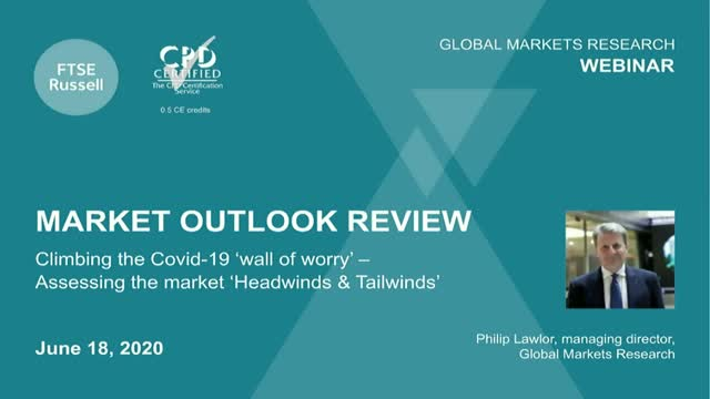Assessing the market 'Headwinds & Tailwinds' after the Covid19 'wall of worry'