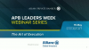 APB Leaders Week Webinar Series: The Art of Execution