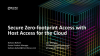 Secure Zero-footprint Access with Host Access for the Cloud