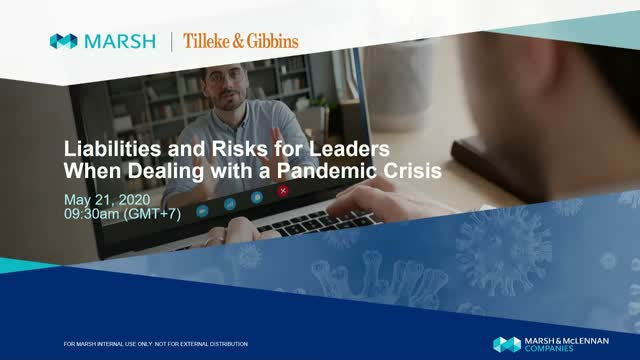 Liabilities and Risks for Leaders When Dealing with a Pandemic Crisis (in Thai)