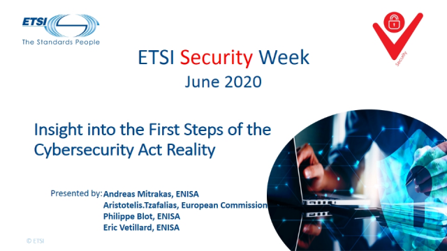 Insight into the First Steps of the Cybersecurity Act Reality