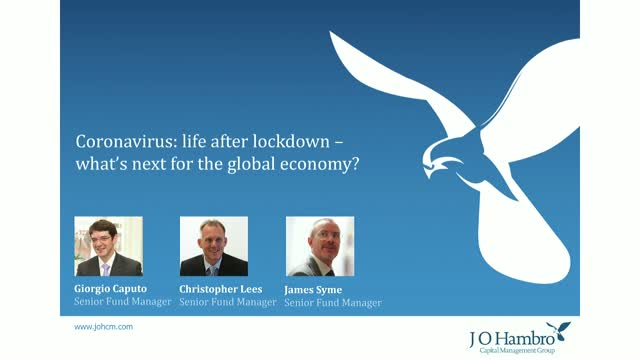 Coronavirus: life after lockdown – what's next for the global economy?