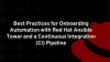 Best practices for onboarding automation with Red Hat Ansible Tower