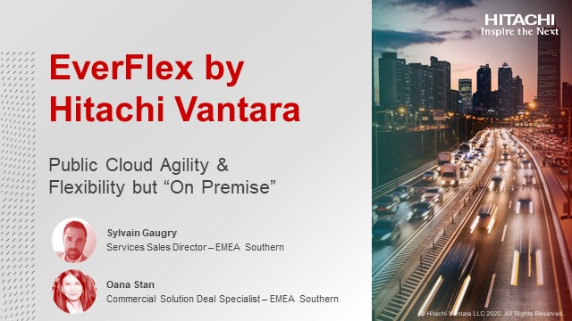 Public Cloud agility and flexibility but « on premise » thanks to Everflex!