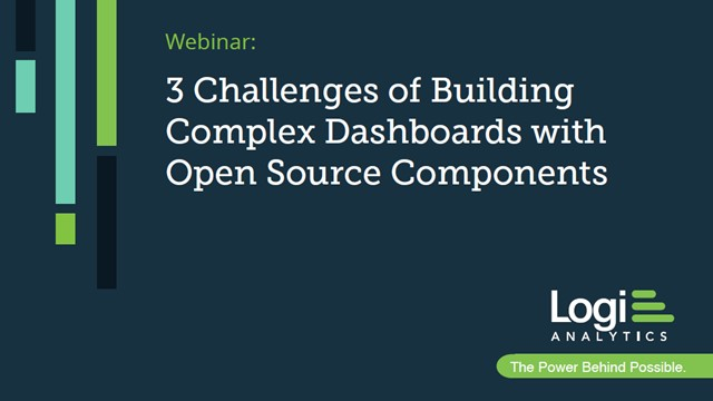 3 Challenges of Building Complex Dashboards with Open Source Components