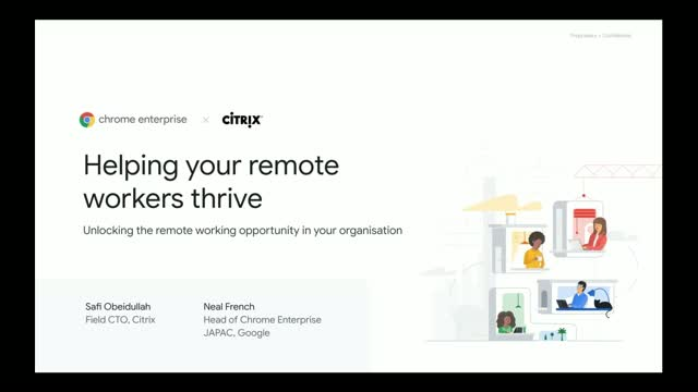 Helping your Remote Workers thrive - Insights from Google & Citrix