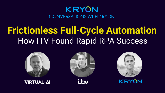 Frictionless Full-Cycle Automation: How ITV Found Rapid RPA Success