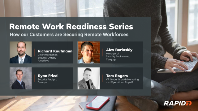 [Panel Talk] Remote Work Readiness: How Customers are Securing Remote Workforces