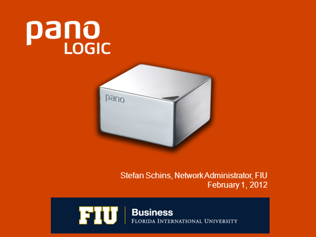 Case Study: Deploying Virtual Desktops at Florida International University