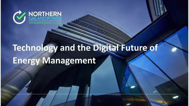 The Digital Future of Energy Management
