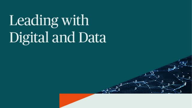 Leading with Digital and Data