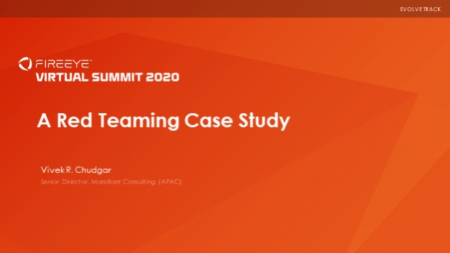 A Red Teaming Case Study