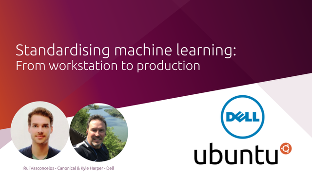 Standardising machine learning from workstation to production