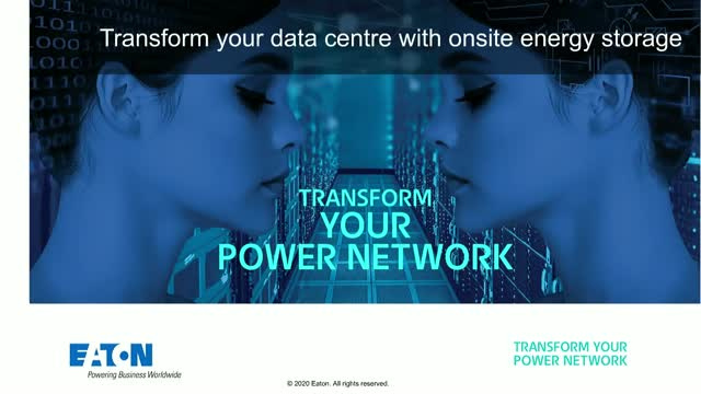 Transform your data centre: With intelligent onsite Energy Storage