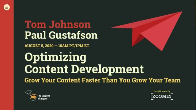 Optimizing Content Development: Grow Your Content Faster Than You Grow Your Team