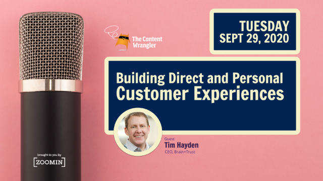 Building Direct and Personal Customer Experiences