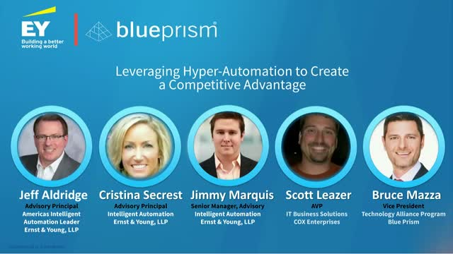 Leveraging Hyper-Automation to Create a Competitive Advantage