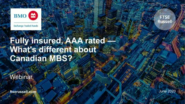 Fully insured, AAA rated - What's different about Canadian MBS?