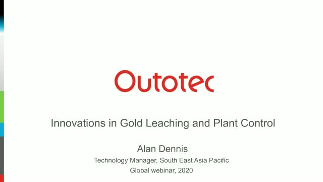 Innovations in gold leaching and plant control