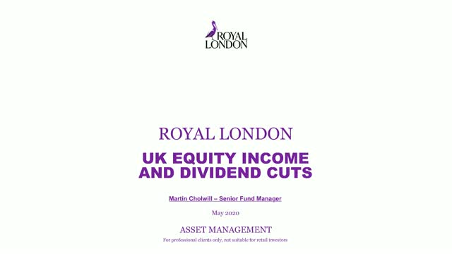 UK equity income and dividend cuts