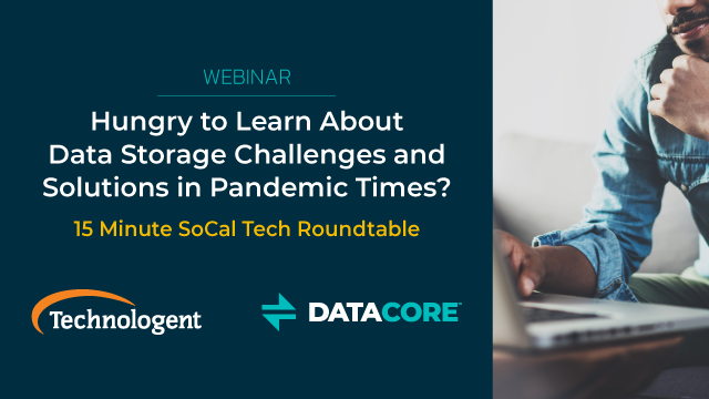 Hungry to Learn About Data Storage Challenges and Solutions in Pandemic Times?