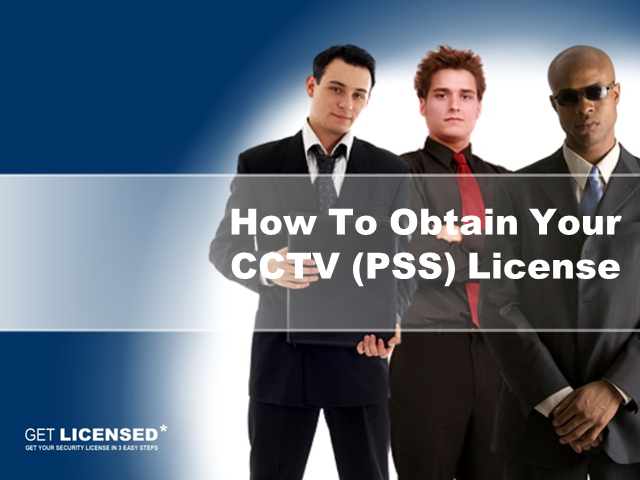 How to obtain your CCTV Licence