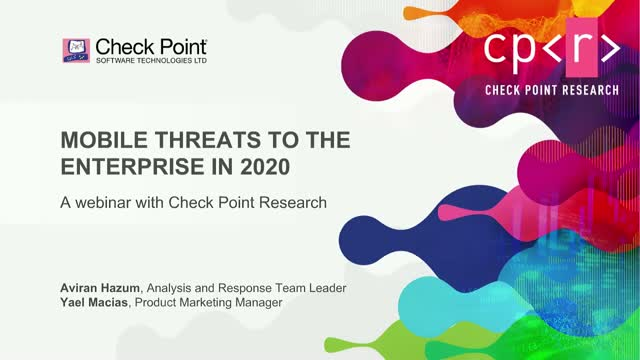 Mobile Threats to the Enterprise in 2020