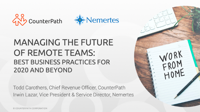 Managing Remote Teams: Business Best Practices for 2020 and Beyond