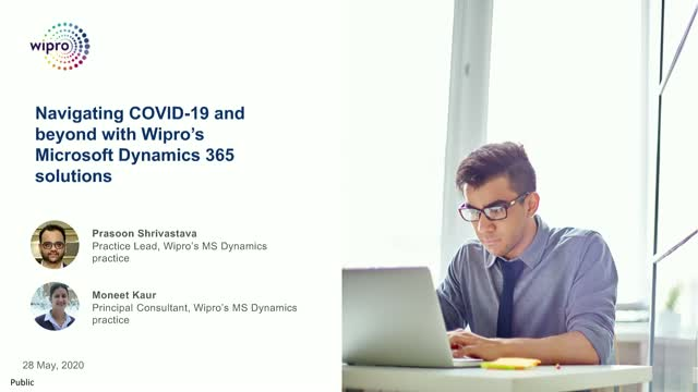 Navigating COVID-19 and beyond with Wipro's Microsoft Dynamics 365 solutions