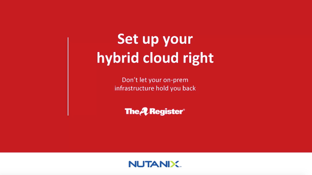 Set Up Your Hybrid Cloud Right