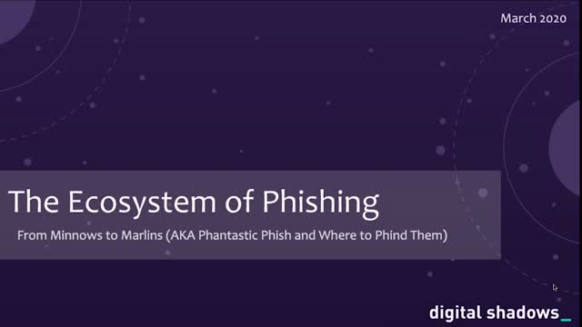 Beware of Phishers: New Research into the Ecosystem of Phishing