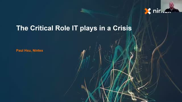 The Critical Role of IT in a Crisis
