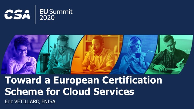 Toward a European Certification Scheme for Cloud Services