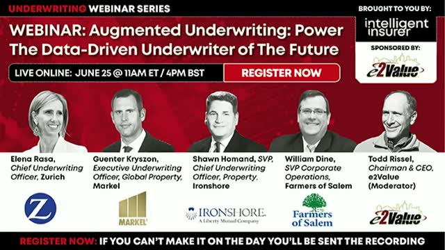 Augmented Underwriting:  Power the Data-Driven Underwriter of The Future