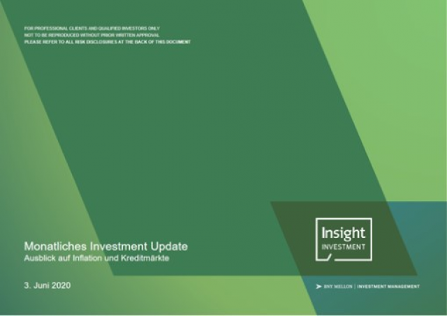 Insight Investment's Monatliches Investment Update