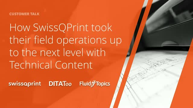 How SwissQPrint Brought Field Operations Up to the Next Level with Tech Content
