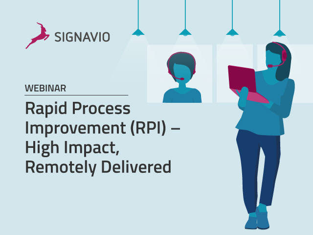 Rapid Process Improvement (RPI) - High Impact, Remotely Delivered