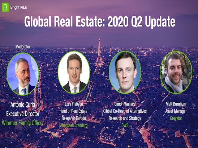 Global Real Estate: 2020 Q2 Update