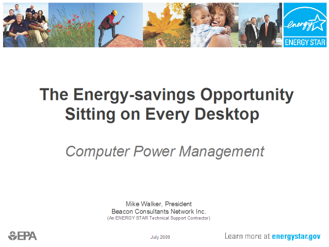 The Energy-Savings Opportunity Sitting at Every Desktop