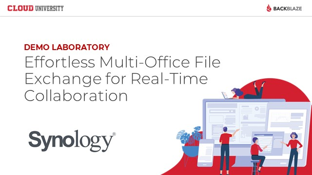 Effortless Multi-Office File Exchange for Real-Time Collaboration with Synology