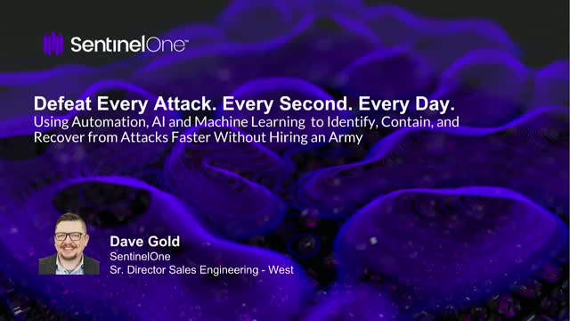 Defeat Every Attack. Every Second. Every Day