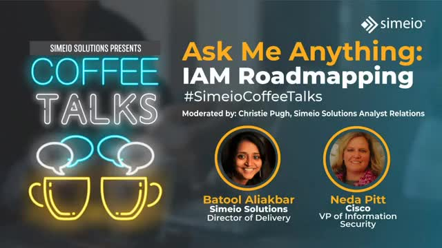Ask Me Anything about IAM Roadmapping