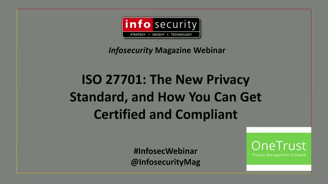 ISO 27701: The New Privacy Standard, and How You Can Get Certified and Compliant
