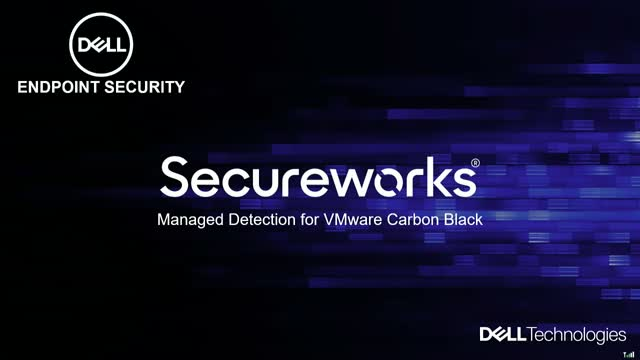 Secureworks Managed Detection for VMware Carbon Black