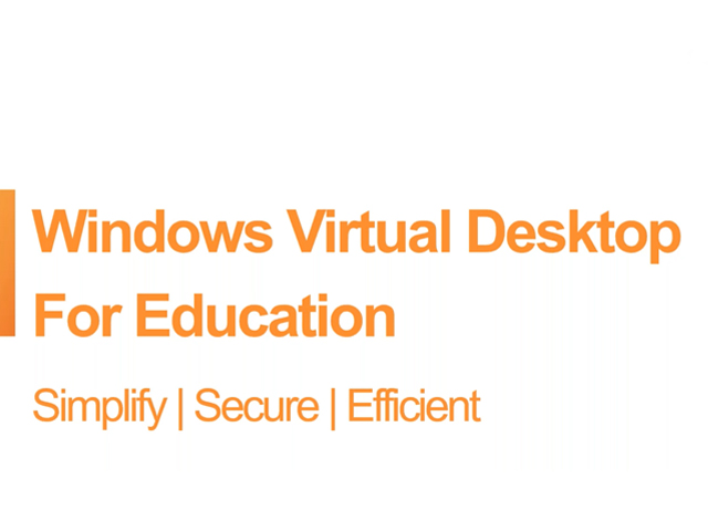 Virtual Desktop Solutions to Enable a Remote Classroom