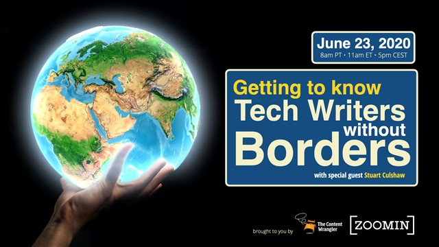 Getting to Know Tech Writers Without Borders