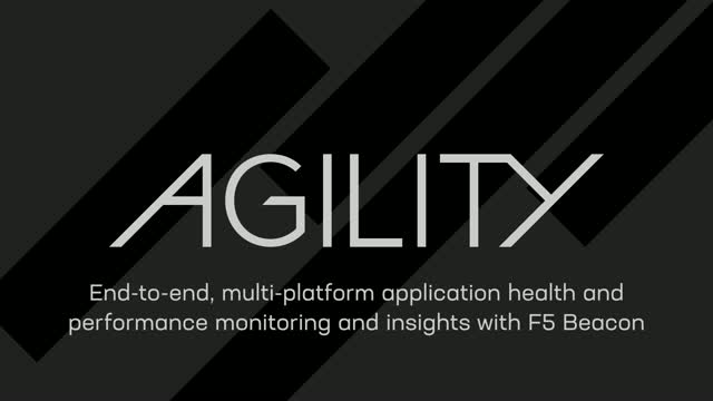 DEMO: End-to-end, multi-platform application health & insights with F5 Beacon