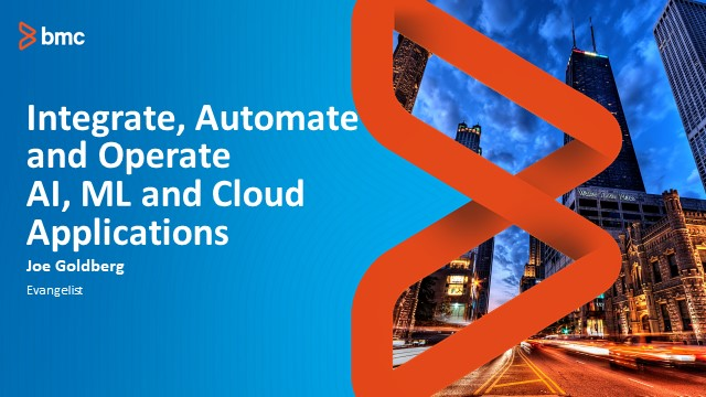 FinServ: Integration, Automation & Operation of AI, ML, & Cloud Applications