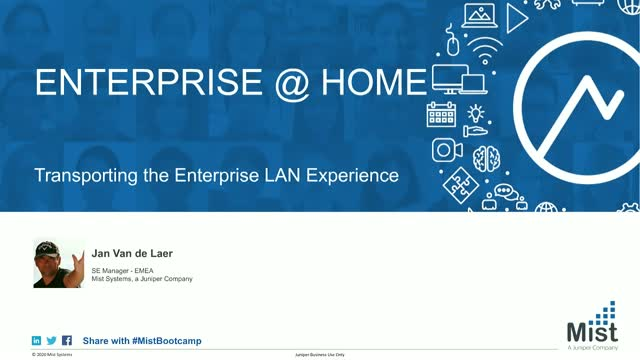Extending your Enterprise Network to All Staff - with a Single Click