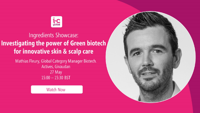 Investigating the power of Green biotech. for innovative skin & scalp care